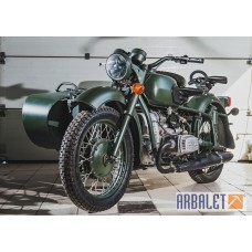 Motorcycle Dnepr MB 650 (2WD) (Mojito) (completely restored)