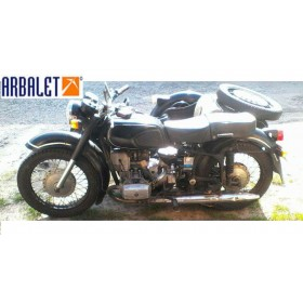 Motorcycle Dnepr 10-36 (1WD) (1980 year, 1864.1 Miles)