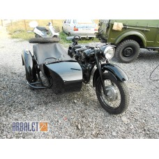 Motorcycle DNEPR K 750 (Black balm ) (completely restored)
