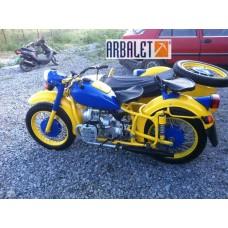 Motorcycle DneprK 750 (1WD)