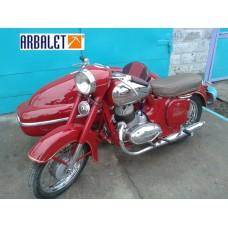 Motorcycle JAWA 250 (1961 year)