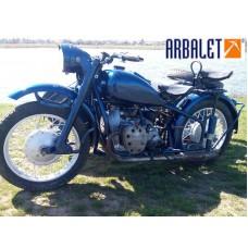 Motorcycle KMZ M 72