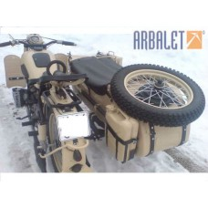 Motorcycle Dnepr M 72 (1WD) (1955 year, 4.3 Miles)