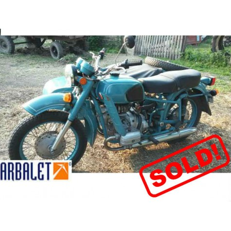 Motorcycle Dnepr 11 (1WD) (1992 year, 608.9 Miles)