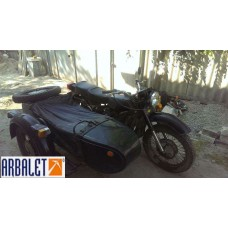 Motorcycle Dnepr 11 (1WD) , 650 cc (1988 year, 7705 Miles)