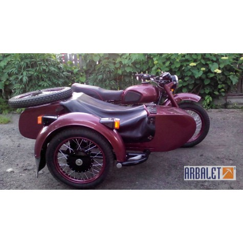 Motorcycle KMZ MT 10 (1WD) (Pravosek) (completely restored)