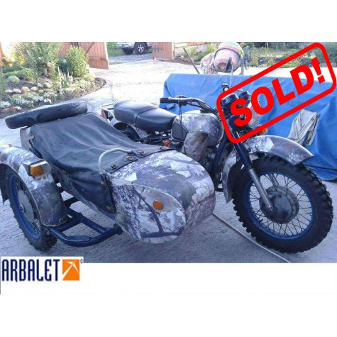 Motorcycle Dnepr 16 (2WD) , 650 cc (1990 year)