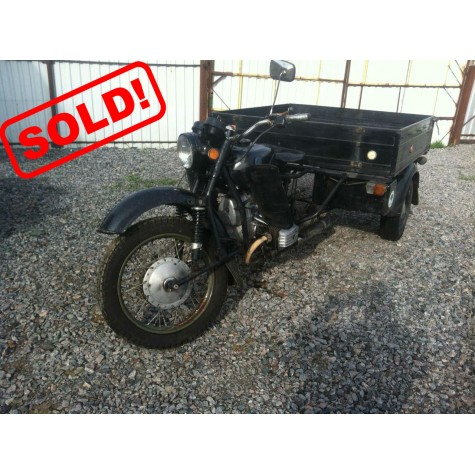 Motorcycle Dnepr 300 (2WD) ANT (1999 year, 3106.86 Miles)
