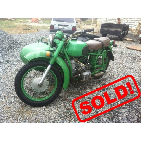 Motorcycle Dnepr 11 (1WD) engine #990547 (1999 year, 31068.56 Miles)