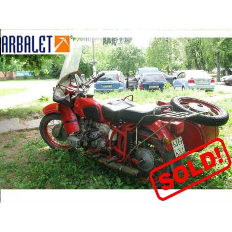 Motorcycle Dnepr 11 (1WD) (1992 year, 7270 Miles)