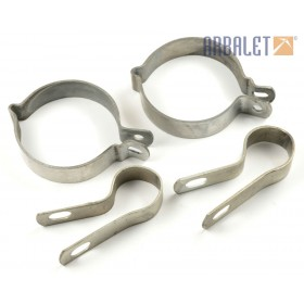 Set of silencer stirrup (KM3-8.15312225/KM3-8.15312103)