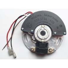 Electronic contactless system of ignition 12V with coil 135.3705M (135.3734,135.3705M)