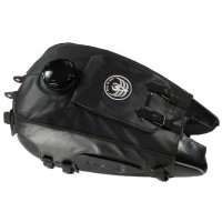 Fuel tank cover, black leatherette (ftcvl-01-b)