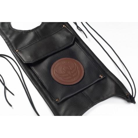 Fuel tank cape, leatherette black (ftcp-01-b)