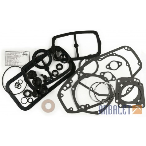 Set of gaskets, paper and rubber (gaskets-rub-pap)