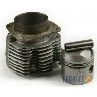 Cylinders, pistons, pins, rings (MT8012-3, MT801238, MT801301)