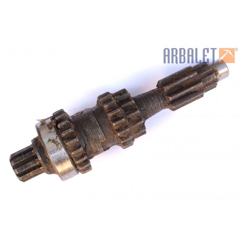 Gear shaft assembly (for 37 teeth gear) (KM3-8.15604300)