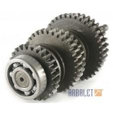 Gear shaft assembly (KM3-8.15604400)