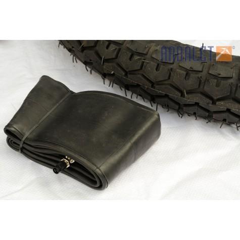 Tyre with innertube (3,75-19)