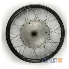 "Wheel assembly 3,75-19"" chrome new, old stock (75006310)"