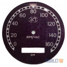 Speedometer plate (CП102-3802010-plate)