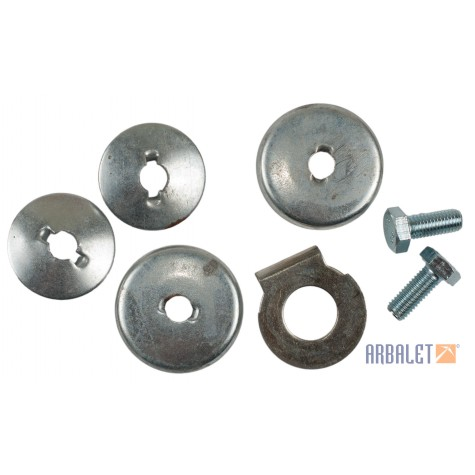 Set of special washers sidecar (KM3-8.15220231, 252006, 5309201, 201497)