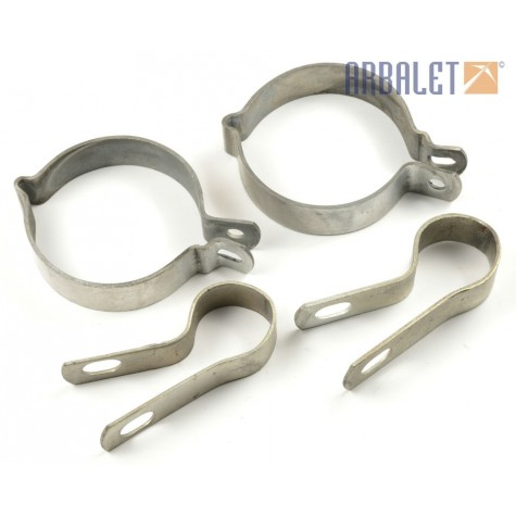 Set of exhaust pipes (650 cc)