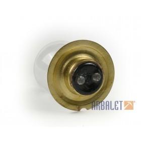 Headlamp bulb 12V, old base (A12-45+40)