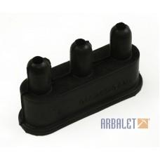 Insulating cap of current-and-voltage regulator terminals (KM3-8.15518056)