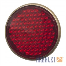 Red cat's eye/reflector (13.3731.000-01)