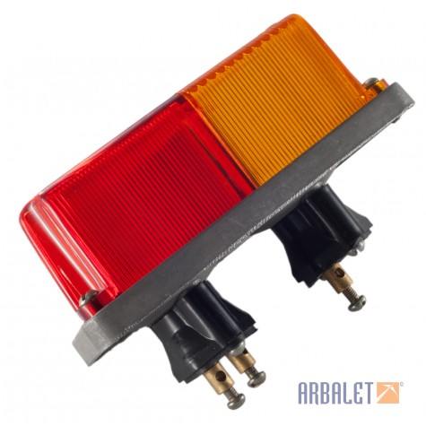 Sidecar front and rear lamps (ФП219-3716000-В, ПФ232-3726000-B)