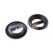 Silencer plug JAWA 350, 634, 638 (black) (pair) the (G-2413)