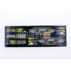 Stickers (set), JAWA (48*16cm, black) the SEA (N-370)