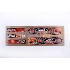 Stickers (set), JAWA (48*16cm, bronze) (N-372)