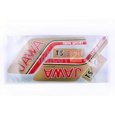 Stickers (set), JAWA (47*23cm, bronze) (N-408)
