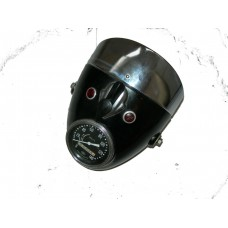 Headlamp 6V with speedometer