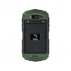 Sigma mobile X-treme PQ15 green-black IP67 waterproof, shock/dust resistant (green-black)