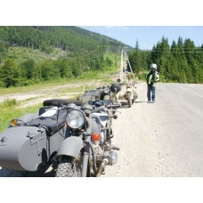 Dnepr Runs Ukraine: Carpatian Sidecar Tour (June 1-15, 2018)