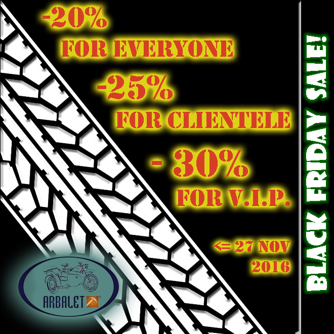 Deals: 10% off from Arbalet-Ukraine! For all motorcycle spare parts!Offer valid before Nov 2 2015